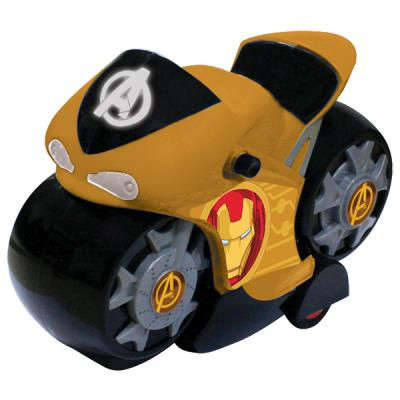 """Интерактивная игрушка Yellow мотоцикл """"Мстители"""" от 3 лет в ассортименте"""