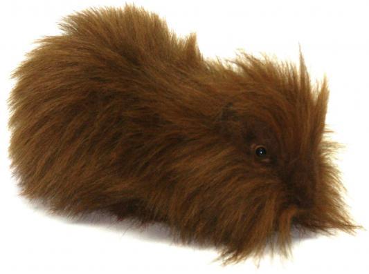 Мягкая игрушка морская свинка Hansa рыжая искусственный мех 30 см 3246М