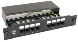 """Коммутационная панель STP  Neomax 19"""" 8 портов RJ-45 cat. 5е PLVF08-11"""