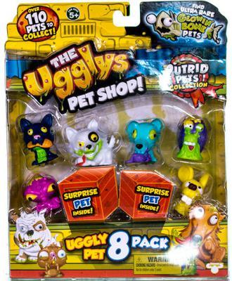 Купить Игровой набор Moose The Ugglys Pet Shop: 8 фигурок в ассортименте, для мальчика, Игровые наборы для мальчиков