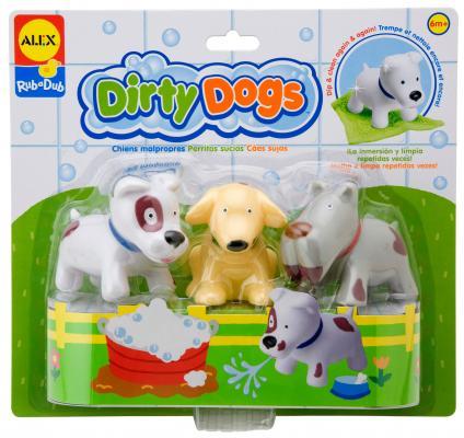 Набор игрушек для ванны Alex Вымой щенка 825DN alex набор для изготовления игрушек динозавры