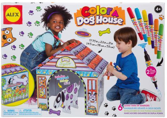 Набор для творчества Alex Раскрась домик для собаки от 4 лет 198D