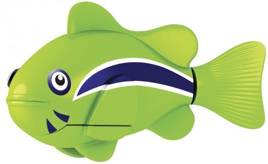 Интерактивная игрушка Robofish РобоРыбка Клоун от 3 лет зелёный 2501-1 игрушка zuru robofish клоун с аквариумом yellow 2502