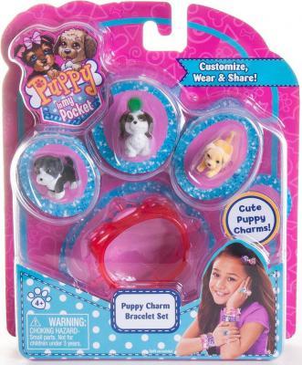 Игровой набор Just Play Puppy in my Pocket украшения с флок. щенками в ассортименте