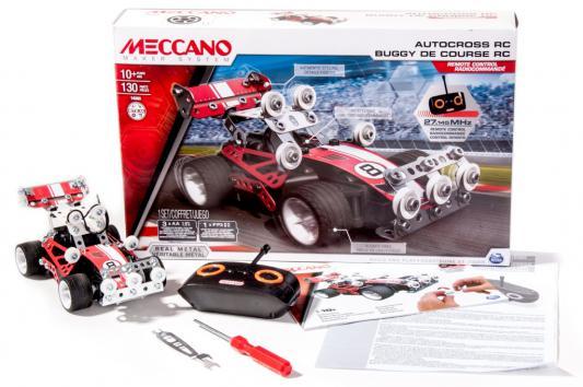 Конструктор Meccano Гоночная машина Р/У - 2 модели 130 элементов