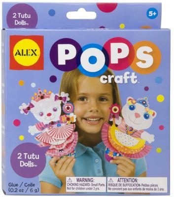 Набор для творчества Alex Pops Craft 2 подружки в юбочках от 5 лет 1191