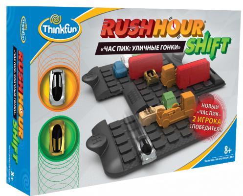 Игра-головоломка ThinkFun Час пик: Уличные гонки от 8 лет 5060-RU thinkfun кубическая головоломка tipover