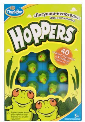 Игра-головоломка ThinkFun Лягушки-непоседы Hoppers от 5 лет 6703-RU