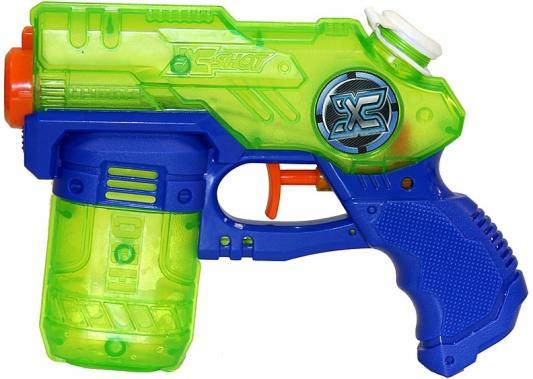 Водный бластер X-shot Проливной дождь зеленый 01226 shot shot standart синий узор