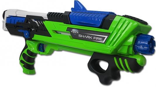 Водное ружье Zing Hydro Force Sharkfire зеленый для мальчика zing hydro force zg658