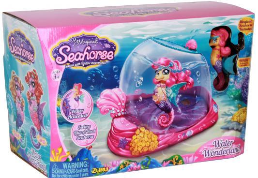 Интерактивная игрушка Robofish Морской Конек Лола с Аквариумом от 3 лет разноцветный 25174 стоимость