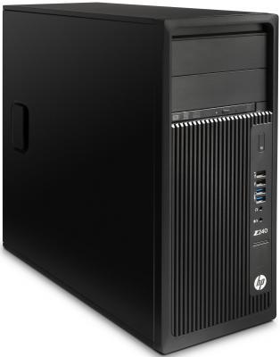 Рабочая станция HP Z240  Xeon E3-1225v5 8Gb DDR4 NVIDIA Quadro K620 2GB  G2 512GB PCIe Win10 Win7 64 мышь J9C08EA