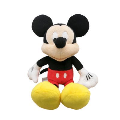 Мягкая игрушка герой мультфильма Disney Микки Маус плюш разноцветный 20 см 6901014014530