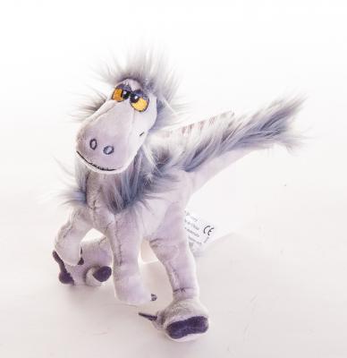 """Мягкая игрушка герой мультфильма Disney """"Хороший динозавр"""" - Раптор плюш сиреневый 17 см 6901014015896"""