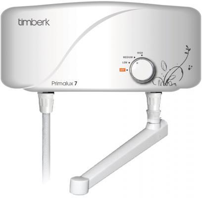 Водонагреватель проточный Timberk WHEL-7 OSC 6500 Вт водонагреватель проточный timberk whel 7 oc