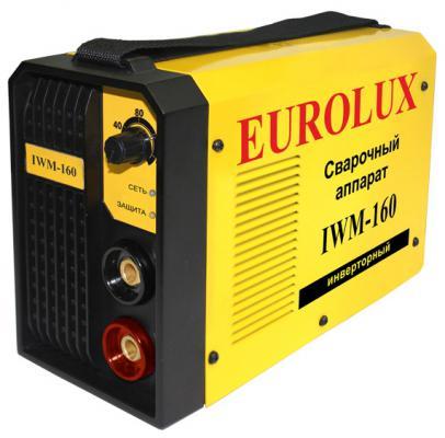 Аппарат сварочный Eurolux IWM160 инверторный сварочный аппарат candan cm 06