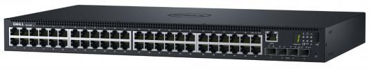Купить Коммутатор DELL N1548 48 портов 10/100/1000Mbps 4xSFP 210-AEVZ/001