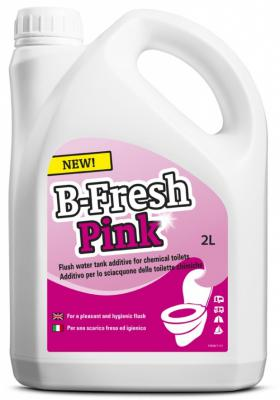Жидкость для биотуалетов Thetford B-FRESH RINSE для верхнего бака розовая 2л