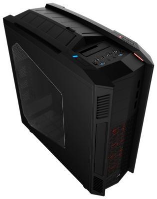 все цены на Корпус ATX Aerocool XPredator II Black Без БП чёрный