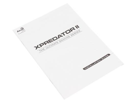 Корпус ATX Aerocool XPredator II Без БП белый 4713105958171