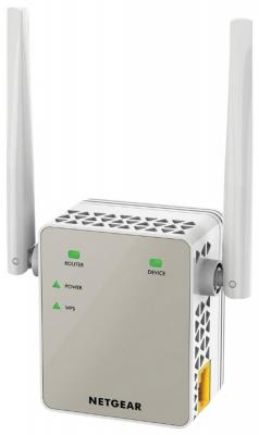 Ретранслятор NETGEAR EX6120-100PES 802.11n 300Mbps 1xLAN точка доступа netgear wnap320 100pes 802 11n 300mbps 2 4ггц 20dbm gblan