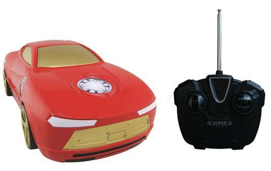"""Автомобиль на радиоуправлении Yellow """"Мстители"""" Железный человек 1:16 2 предмета 5311"""