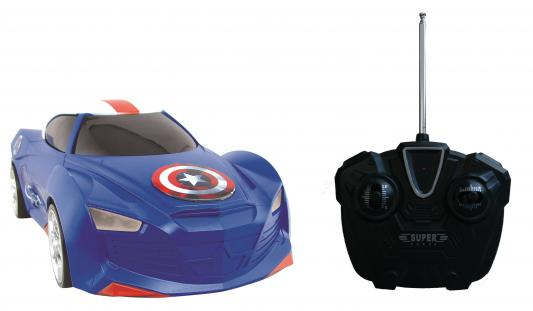 """Автомобиль на радиоуправлении Yellow """"Мстители"""" Капитан Америка 1:16 2 предмета 5312"""