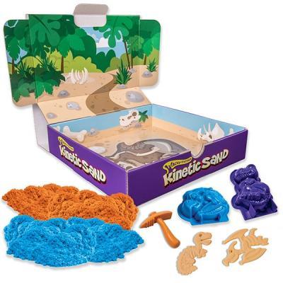 Песок для лепки Kinetic Sand. Игровой набор c формочками, 340 грамм 71415 22pcs sand