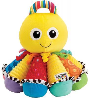 Купить Интерактивная игрушка Tomy Музыкальный Осьминожек от 2 лет T27027, н/д, 25 см, текстиль, унисекс, Игрушки со звуком