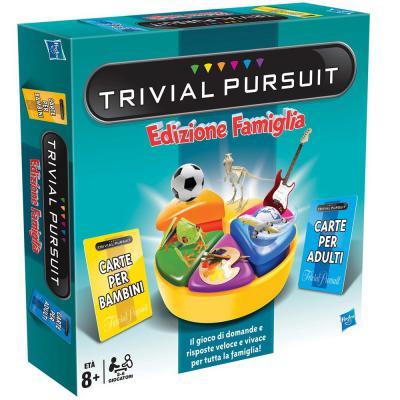 Настольная игра Hasbro семейная Тривиал Персьюит 73013