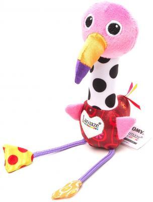 Развивающая игрушка TOMY Веселый Розовый Фламинго LC27611 игровые наборы tomy britains big farm фермерский прицеп со свинками