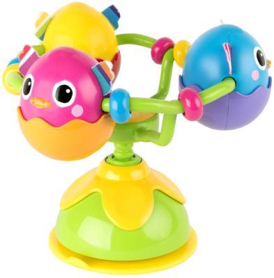 Развививающая игрушка Tomy Веселые утята, с присоской машинки tomy трактор john deere monster treads с большими резиновыми колесами tomy