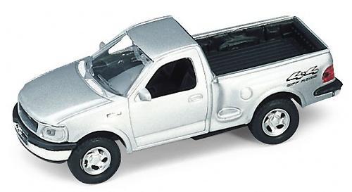 Автомобиль Welly Ford F-150 1:34-39 серебристый