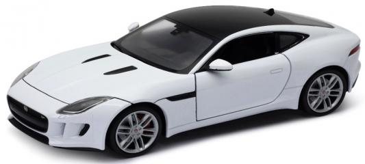 Автомобиль Welly Jaguar F-Type Coupe 1:24 24060W автомобиль welly jaguar f pace 1 24 цвет в ассортименте
