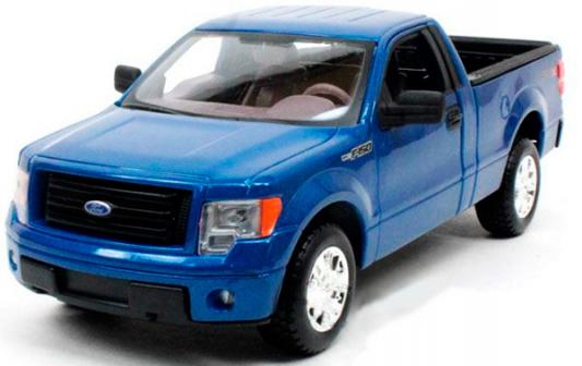 Автомобиль Welly Ford F-150 1:34-39 синий