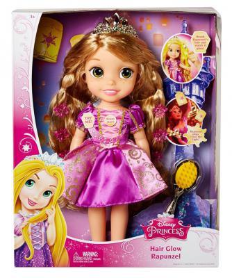 Кукла Hasbro Disney Princess: Рапунцель со светящимися волосами 38 см
