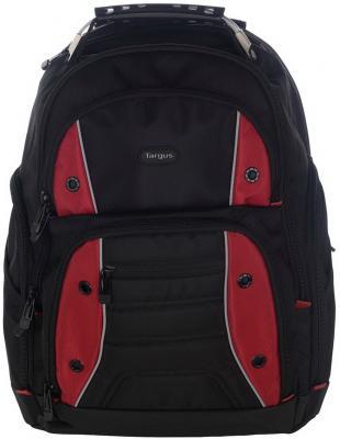 Рюкзак для ноутбука 16 Targus TSB23803EU полиэстер черный красный сумка для ноутбука targus classic clamshell cn418eu 70 black полистер до 18