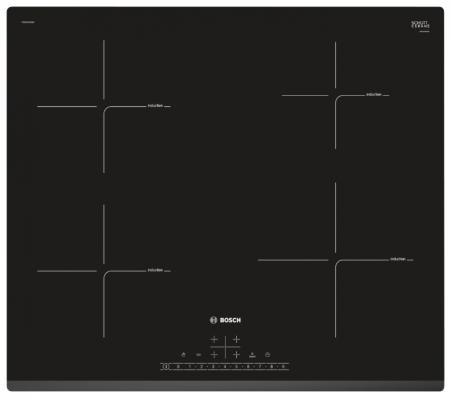 Варочная панель электрическая Bosch PIE631FB1E черный варочная панель bosch pkf651fp1e