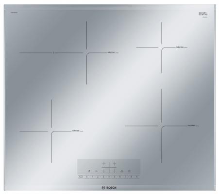 Варочная панель электрическая Bosch PIF679FB1E серебристый дрель электрическая bosch psb 500 re 0603127020 ударная