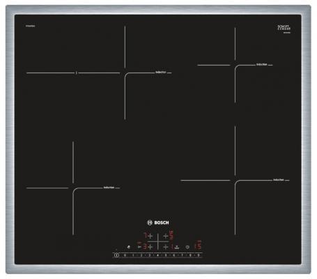 Варочная панель электрическая Bosch PIF645FB1E черный дрель электрическая bosch psb 500 re 0603127020 ударная