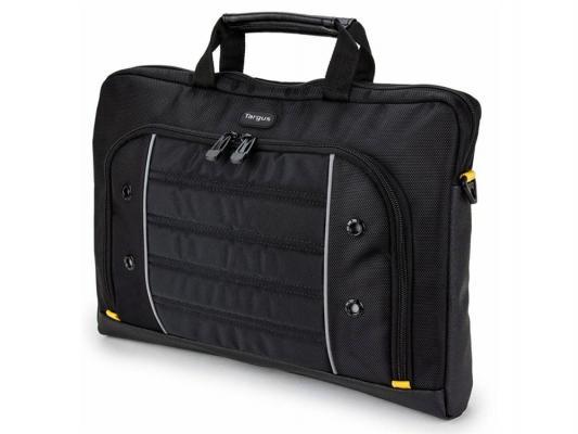 Сумка для ноутбука 15.6 Targus TSS87409EU полиэстер черный желтый
