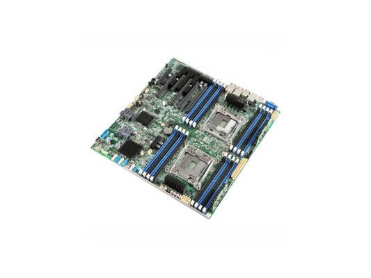 Мат. плата для ПК Intel DBS2600CW2SR Socket 2011-3 C612 16xDDR4 4xPCI-E 16x 2xPCI-E 8x 10xSATAIII EATX Retail