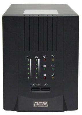 ИБП Powercom Smart King Pro+ SPT-700 490Вт 700ВА черный ибп powercom smart king pro spt 3000 2100вт 3000ва черный