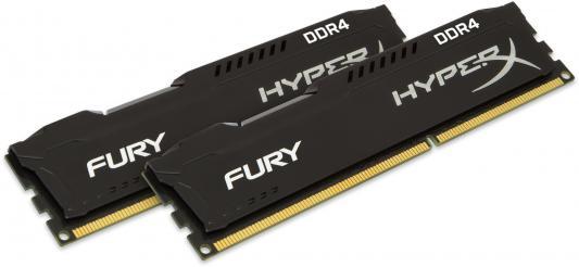 Оперативная память 8Gb (2x4Gb) РС4-19200 2400MHz DDR4 DIMM CL15 Kingston HX424C15FBK2/8 оперативная память для ноутбуков so ddr4 8gb pc17000 2133mhz kingston kvr21s15s8 8