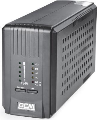 ИБП Powercom Smart King Pro+ SPT-500 350Вт 500ВА черный