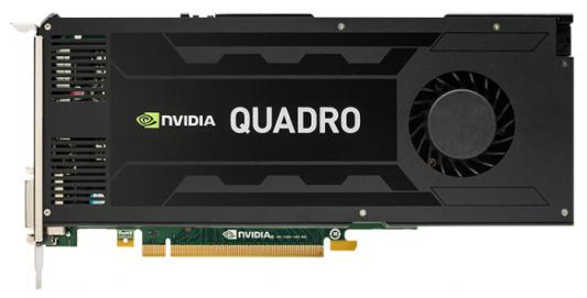 Видеокарта 4096Mb PNY Quadro K4200 PCI-E 256bit GDDR5 DVI 2xDP VCQK4200-PB Retail