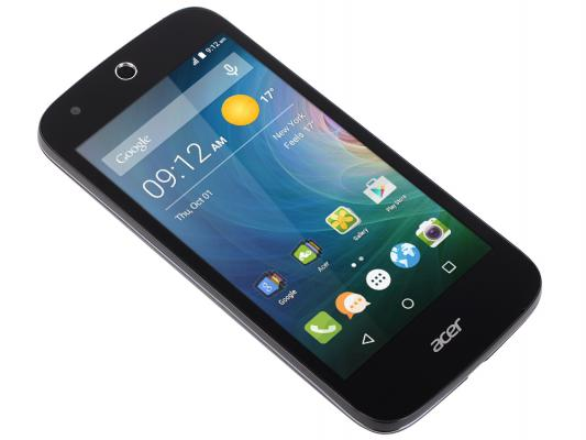 "Смартфон Acer Liquid Z330 черный 4.5"" 8 Гб LTE Wi-Fi GPS 3G HM.HPUEU.002"