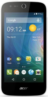 "Смартфон Acer Liquid Z330 черный 4.5"" 8 Гб LTE Wi-Fi GPS HM.HQ0EU.002"