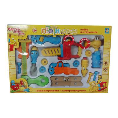 Набор инструментов 1Toy Малыш-профи 17 предметов Т55992