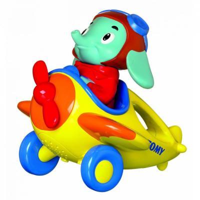 Купить Интерактивная игрушка Tomy Весёлые Виражи Летчика Люка от 18 месяцев разноцветный, пластик, унисекс, Обучающие интерактивные игрушки